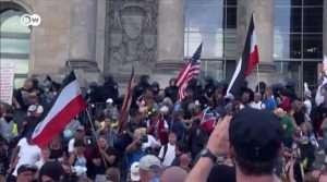 حمله نژادپرستان آلمانی به پارلمان